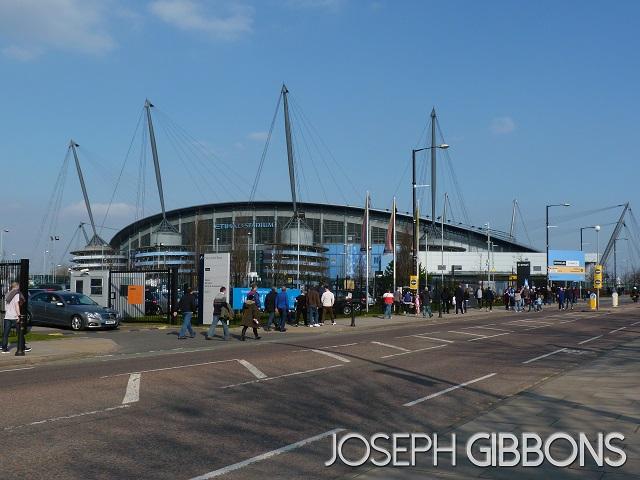 Manchester City FC - The Etihad Stadium