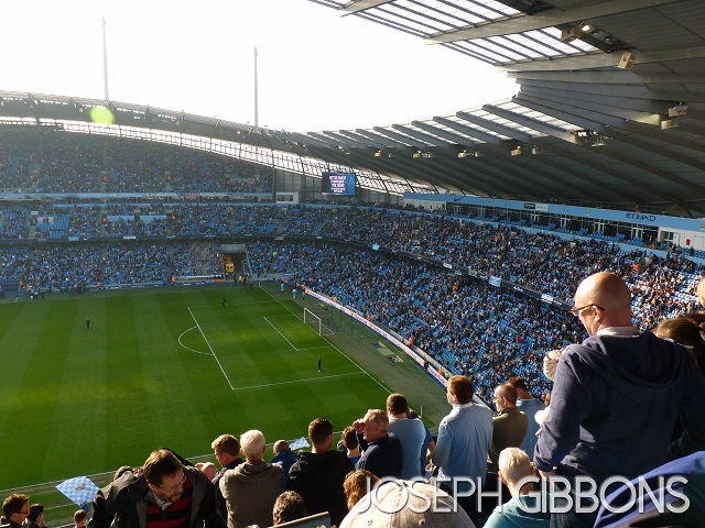 Manchester City FC - The Etihad Stadium