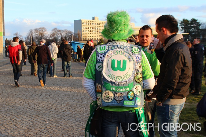 Wolfsburg Fan