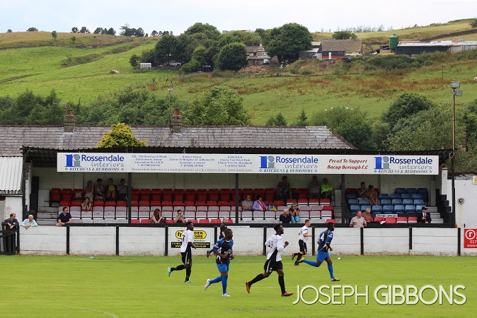 Bacup & Rossendale Borough FC - West View