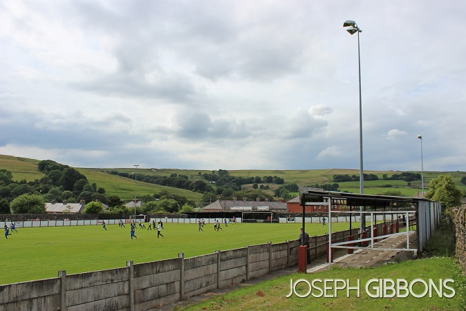 Bacup & Rossendale Borough FC - West View
