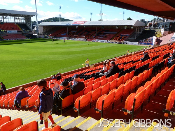Dundee United FC - Tannadice Park - The Shed