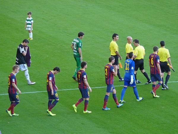 Barcelona B v Eibar