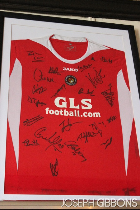 An old Gravesend & Northfleet shirt