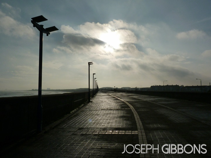 Walking down the sea front