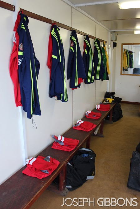 Away changing room