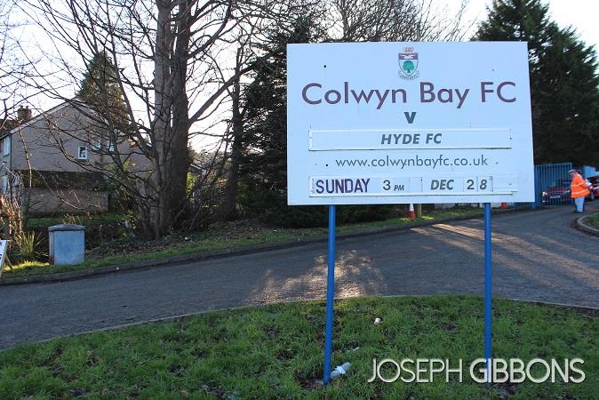 Colwyn Bay v Hyde