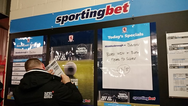 The latest odds