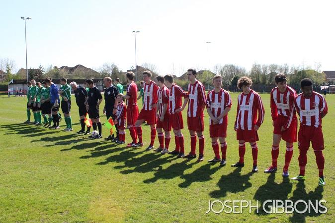 Pre-match line up