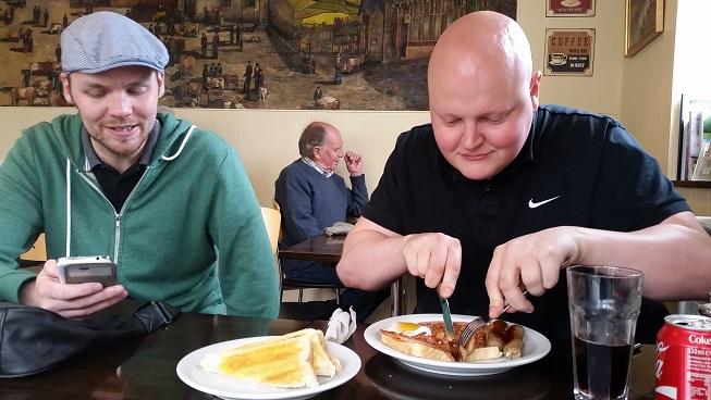 Matt not joining in with breakfast