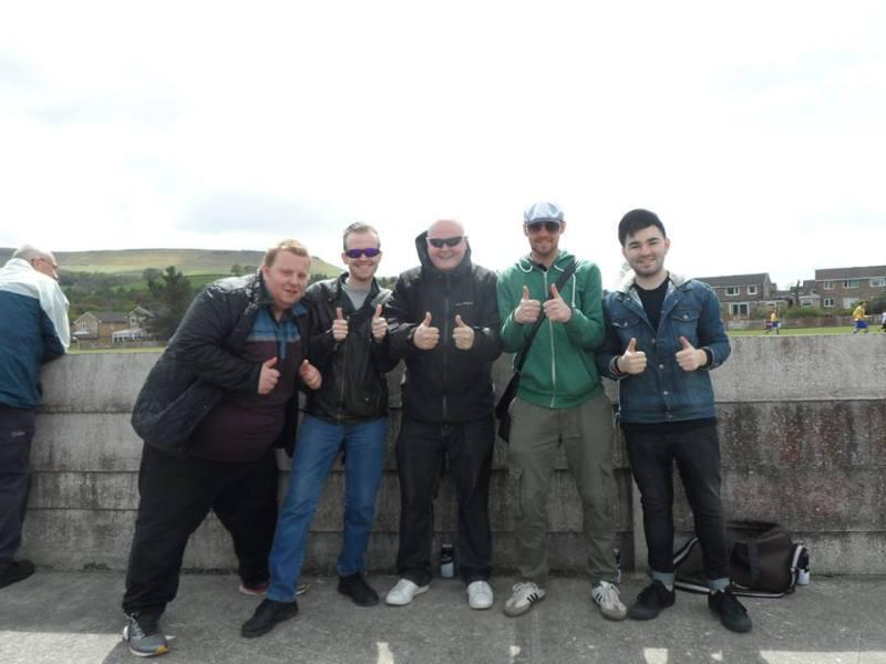 Dan, George, Rob, Matt and I