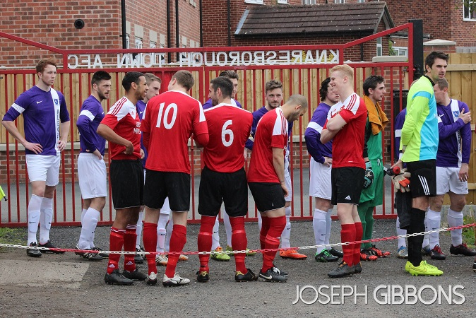 Knaresborough Town v Hall Road Rangers