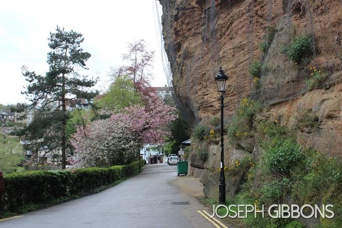 Post match walk along the cliffs