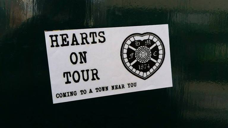 Hearts on tour