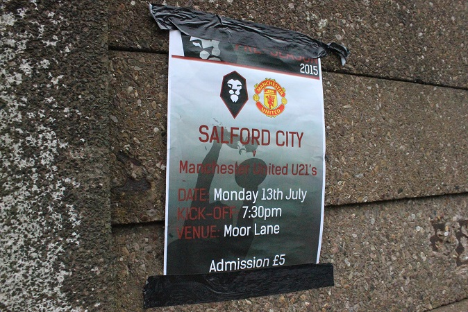 Salford City FC - Moor Lane