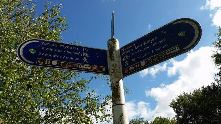 Directions to Ystrad Mynach