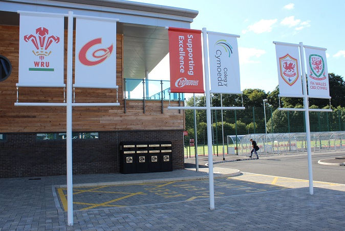 Caerphilly County Borough Centre for Sporting Excellence, Ystrad Mynach