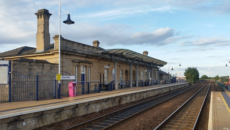 Mansfield Train Station