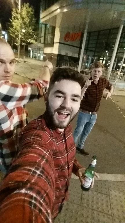 Matt, Myself and Tom