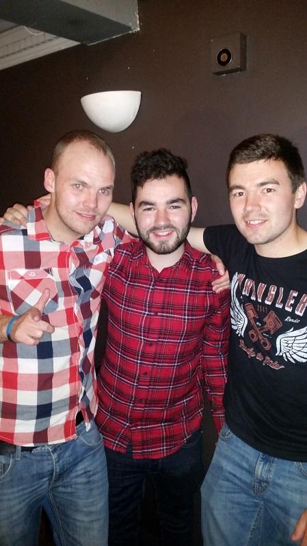 Matt, Myself and Joe