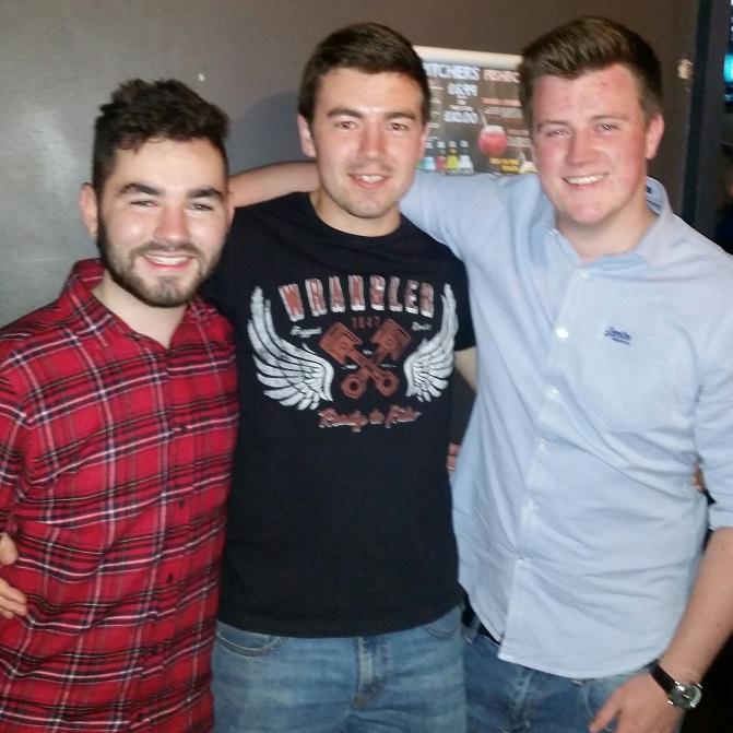 Me, Joe and Aaron