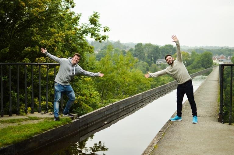 Aaron and I