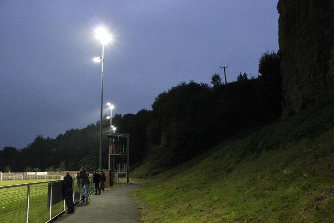Cefn Druids FC - The Rock