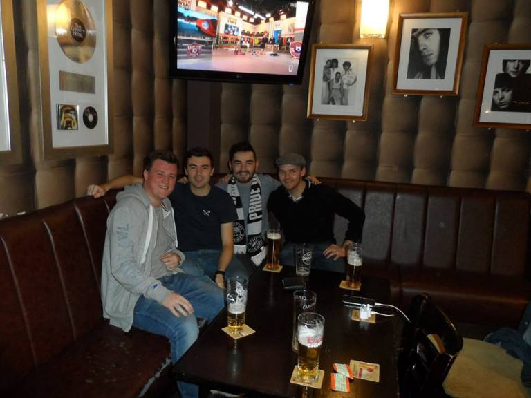 Aaron, Joe, Me and Matt