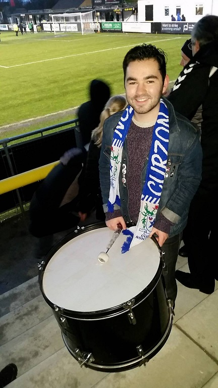 Drumming at half time
