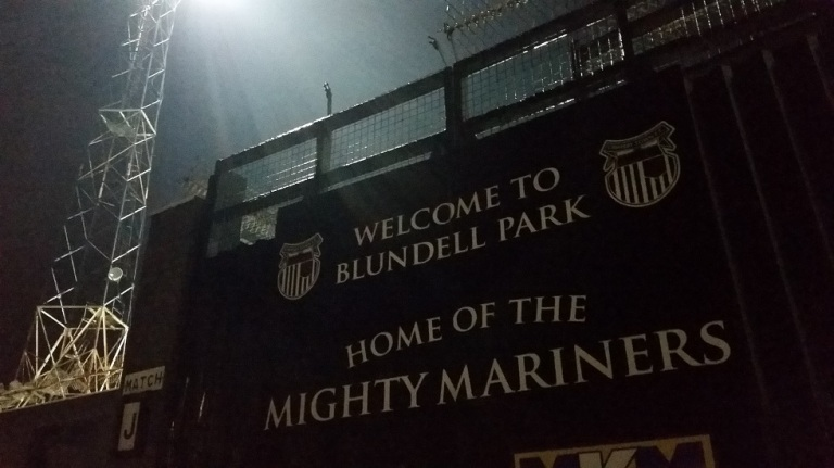 Grimsby Town FC - Blundell Park