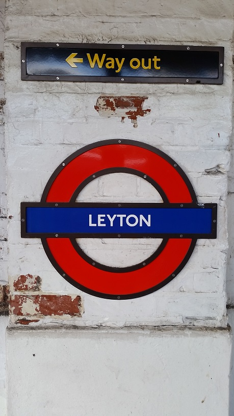 Arriving into Leyton
