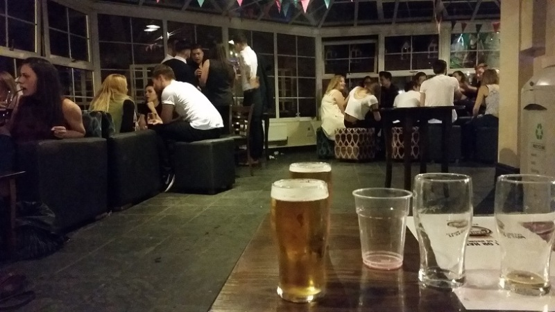 Back in the Students Union
