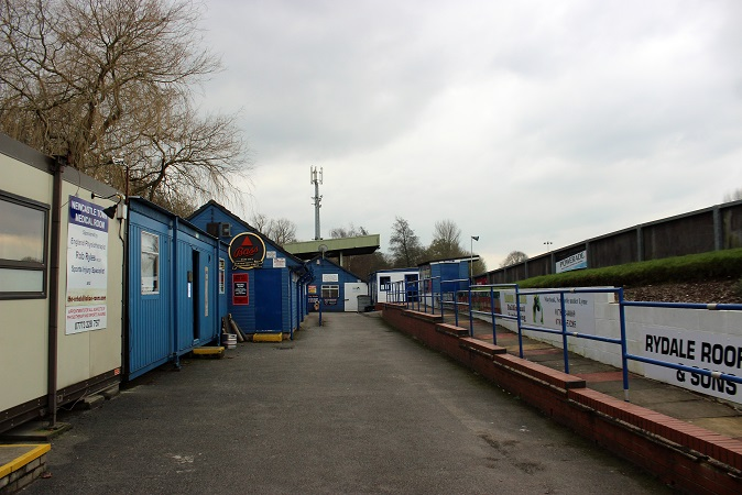 Newcastle Town FC - Lyme Valley Stadium