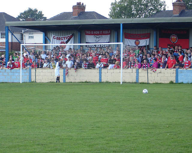 FC United at the Welfare Ground in 2006