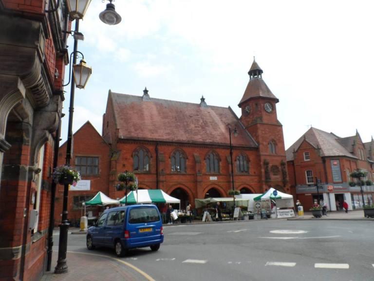 Sandbach town centre