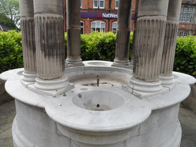 Dirty water fountain