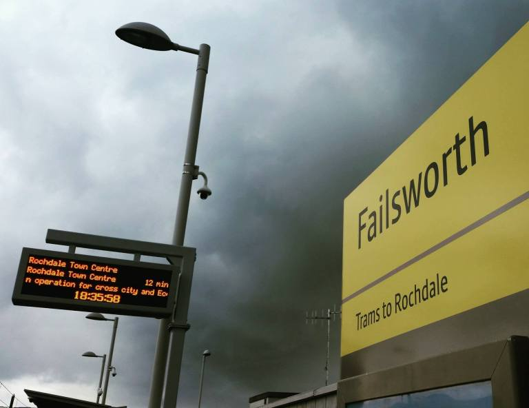 An overcast Failsworth