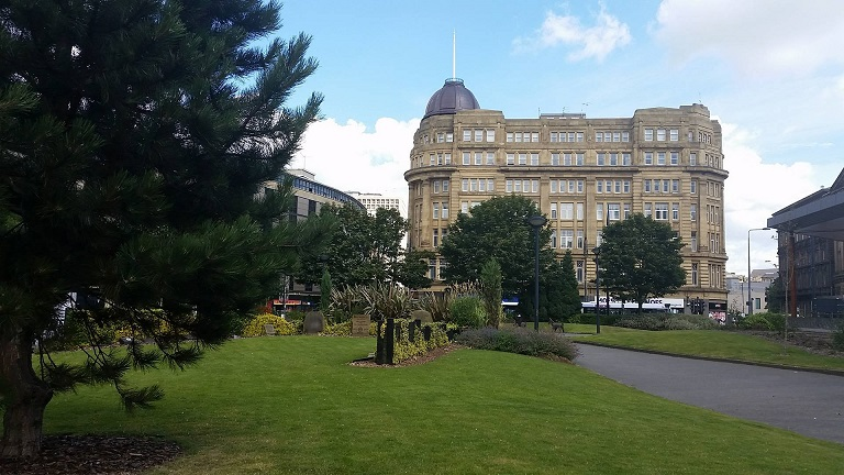 Bradford town centre