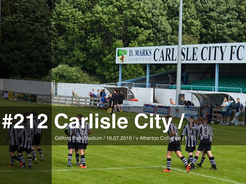 Carlisle City Fc Gillford Park Stadium Gibbo S 92