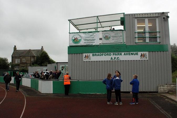 Bradford Park Avenue FC - Horsfall Stadium